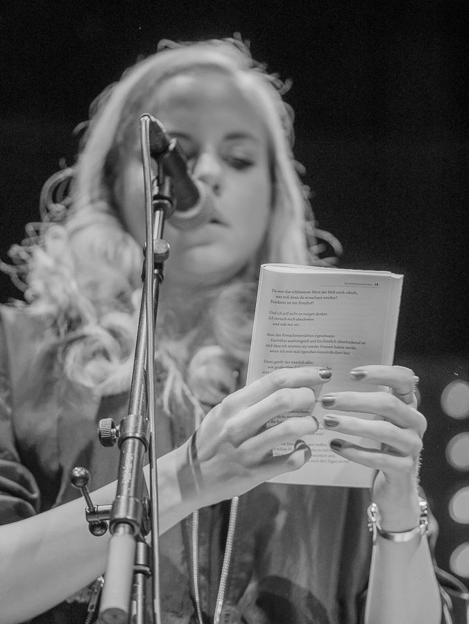 Julia Engelmann im Mojo Club